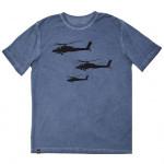 Футболка Helicopter Alpha Industries cadmium blue