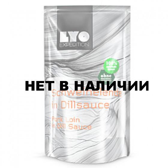 Сублимат Свинина в укропном соусе PORK LOIN IN DILL SAUCE (LYO FOOD)
