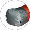 Спальный мешок Fantasy 340 красный/серый L