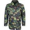 Куртка зимняя М4 цифровая флора оксфорд
