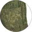Брюки горные - 3 брезент цифровая флора