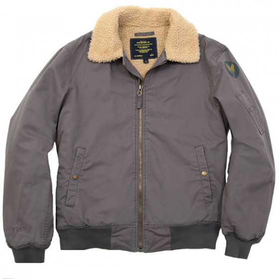 Куртка Nose Dive Flight Jacket Alpha Industries fog gray