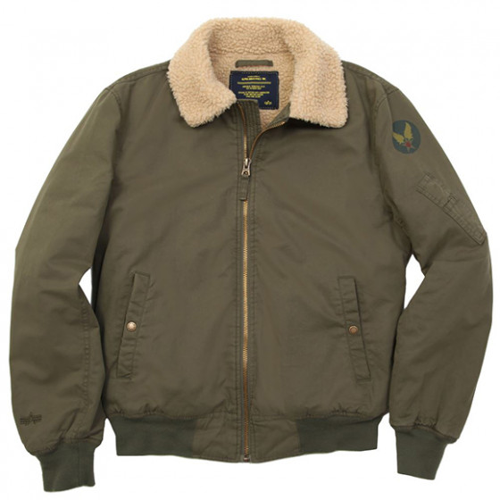 Куртка Nose Dive Flight Jacket Alpha Industries olive
