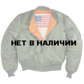 Куртка MA-1 Blood Chit Alpha Industries sage green