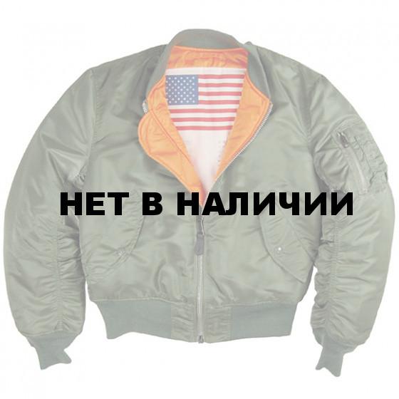 Куртка MA-1 Blood Chit Alpha Industries sage green