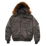 Куртка Deflector Flight Jacket Alpha Industries replica gray