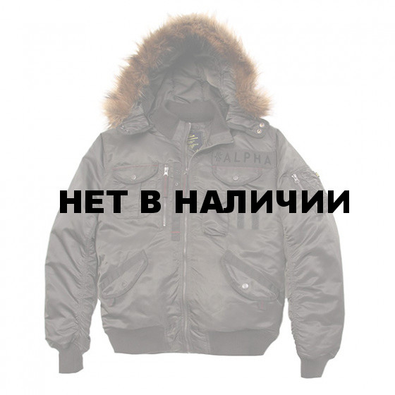 Куртка Deflector Flight Jacket Alpha Industries replica gray
