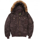 Куртка Deflector Flight Jacket Alpha Industries deep brown