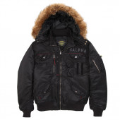Куртка Deflector Flight Jacket Alpha Industries black