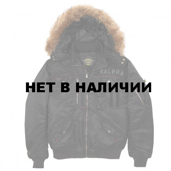 Куртка Deflector Flight Jacket Alpha Industries black