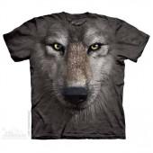 Футболка The Mountain Wolf face XL