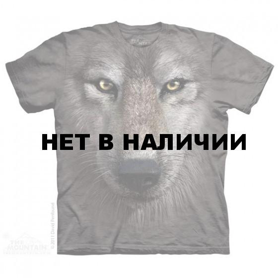 Футболка The Mountain Wolf face XL