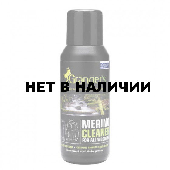 Пропитка GRANGERS CLOTHING Cleaning Merino Cleaner 300ml Bottle(GRF38)