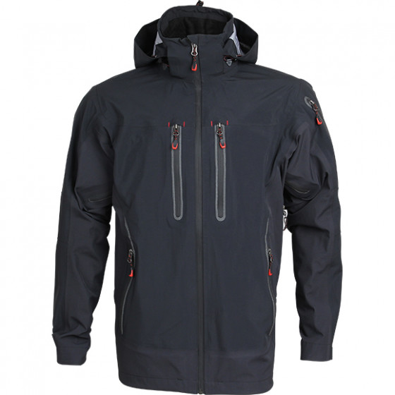 Куртка Vector черная мембрана eVent