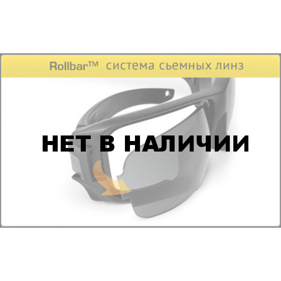 Очки ESS Rollbar Black Contract