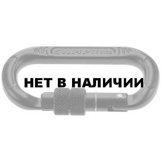 Карабин Oval Compact Lock Nero (Camp)