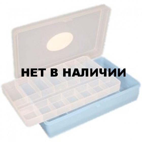 Коробка Тривол ТИП-3 235 х 150 х 50 мм, двухъярусная со вклад