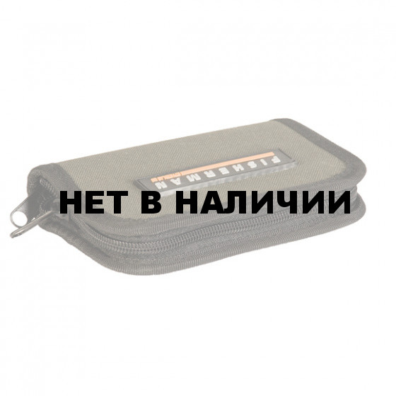 Кошелёк д/мормышек малый Ф-35 13см*8см FISHERMAN