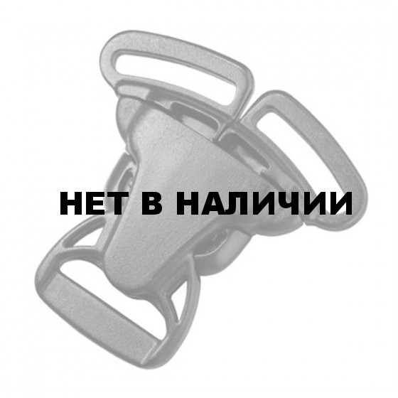 Пряжка фастекс тройной 25мм 1-07651/1-07650 (3 части) оливковый Duraflex