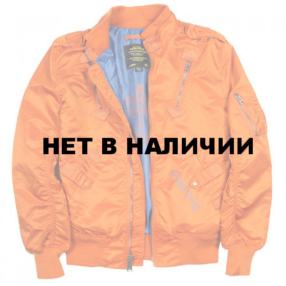 Куртка Refueler Alpha Industries bonfire orange