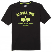 Футболка Authentic Military Apparel Alpha Industries black