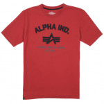 Футболка Authentic Military Apparel Alpha Industries chili red