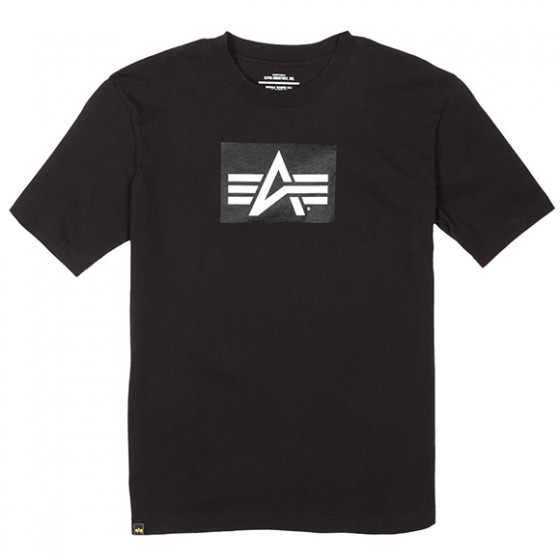 Футболка Logo Block Alpha Industries black