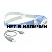 Фонарь TIKKA R+ Teal Blue (Petzl)