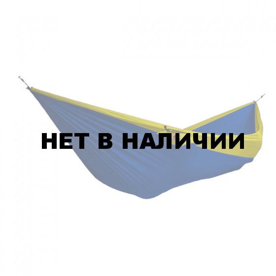 Гамак двухместный Ticket to the Moon Blue-Yellow