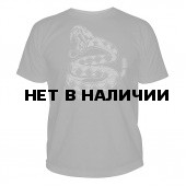 Футболка 5.11 Logo T Don`t Tread On Me Charcoal S