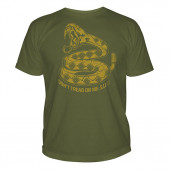 Футболка 5.11 Logo T Don`t Tread On Me Od Green