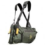 Система нагрудных сумок Ribz зеленый L