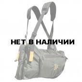 Система нагрудных сумок Ribz зеленый XL