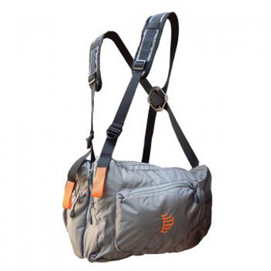 Система нагрудных сумок Ribz серый M