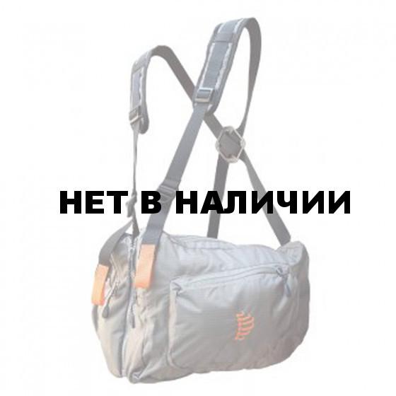 Система нагрудных сумок Ribz серый XL