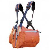 Система нагрудных сумок Ribz оранжевый L