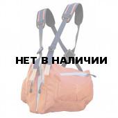 Система нагрудных сумок Ribz оранжевый XL