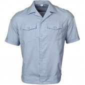 Рубашка форменная-М, короткий рукав, светло-голубая