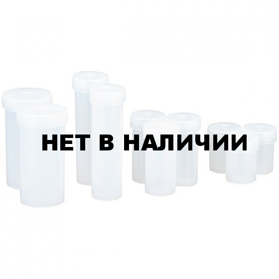 Набор бутылочек Nalgene MULTIPURPOSE SNAP-CAP VIAL KIT