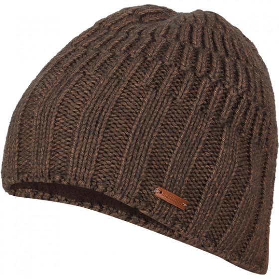 Шапка полушерстяная marhatter MMH 4916/2 коричневый 026