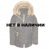 Куртка N-3B Inclement Parka Alpha Industries black