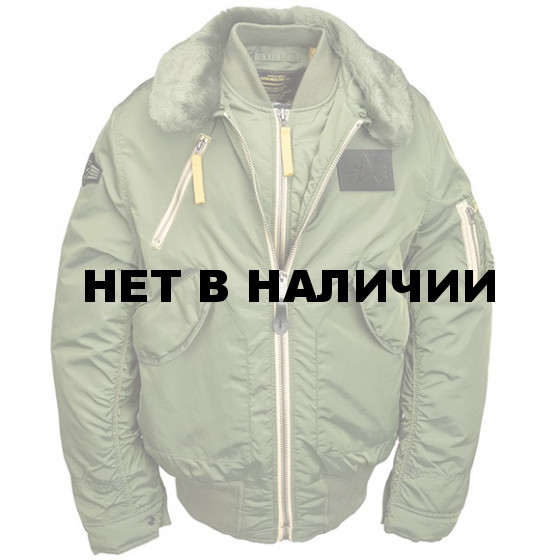 Куртка B-15 Air Frame Alpha Industries sage green