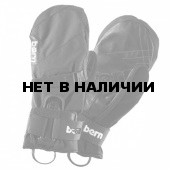 Варежки муж. Men`s Black Synthetic Mittens w/Removeable Wrist Guard