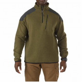 Толстовка 5.11 Tactical 1/4 Zip Sweater field green