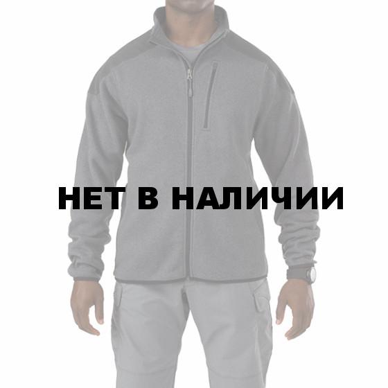 Толстовка 5.11 Tactical Full Zip Sweater gun powder M