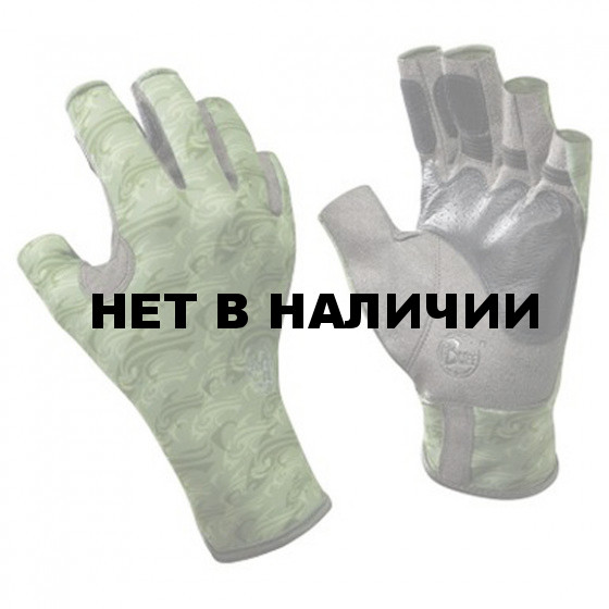 Перчатки рыболовные Buff Pro Series Angler Gloves Skoolin Sage