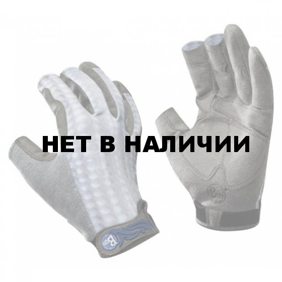 Перчатки рыболовные Buff Pro Series Figting Work Grey Skale L/XL