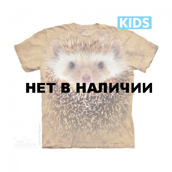 Футболка детская The Mountain Big Face Hedgehog Kids