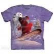 Футболка The Mountain Snowboard Bear