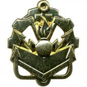 Эмблема петличная Инженерные войска нового образца повседневная металл